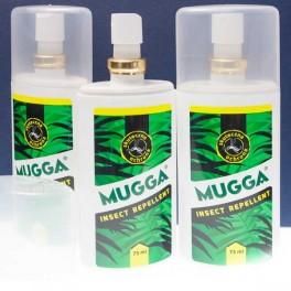 Mugga 9,5% DEET spray atomizer 75ml.