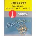 Haczyki VMC Limerick krótki nr4 9214 GO